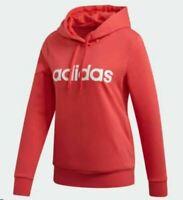 Womens Hoodie Hoody Ladies New Adidas Logo Jumper Sweatshirt Hooded Jacket Pink