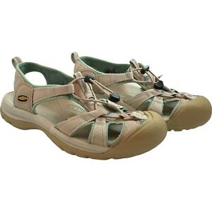 KEEN Women Size AU 11  EUR 42 Waterproof Sandals Outdoor Closed Toe Grey / Green