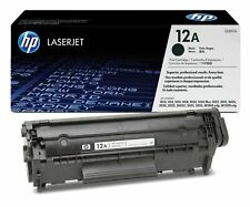 Genuine HP Q2612A (12A) Cartucho de Tóner Negro | Entrega Gratis 🚚