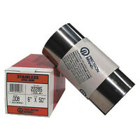 """Precision Brand 22220 Shim Stock, Roll, Cold 302 Ss, 0.0050 In, Width: 6"""""""