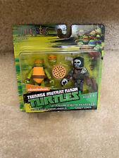 Minimates TMNT Teenage Mutant Ninja Turtles Sewer Michelangelo & Casey Jones