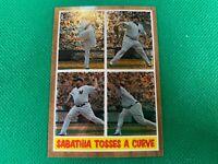 ⭐️👀 2011 Topps Heritage Chrome #C73 CC Sabathia 0377/1962 New York Yankees
