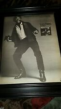 Wilson Pickett A Funky Situation Rare Original Promo Poster Ad Framed!