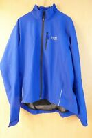 Gore Windstopper Cycling Jacket Blue Large-OUTSTANDING!
