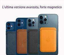 Portafoglio MagSafe in  ecopelle per iPhone 12 ,12  Pro ,12 Pro MAX ,12 Mini
