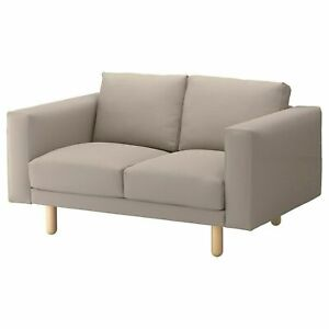 New IKEA Norsborg 2 Seat  Sofa Covers  + armrest covers in Grasbo beige