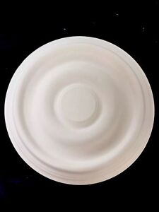 Plaster ceiling rose, Traditional Victorian design. 355mm wide. Family business.