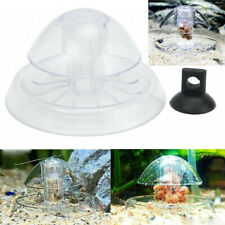 8cm Clear Snail Trap Aquarium Fish Tank Plants Planarian Leech Catch Us