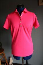 New listing Women's Nike Golf Dri-Fit Tour Performance Pink Polo Short Sleeve Shirt ~S~