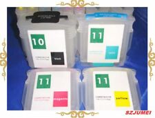 FOR HP 10 and HP 11 4 COLOR REFILLABLE CARTRIDGE WITH AUTO RESETTING Chip