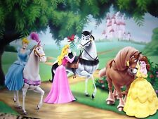Disney Art  Princesses with Horses Open Edition Lithograph