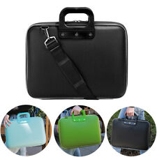 """SumacLife Leather Laptop Sleeve Case Bag For 15.6"""" Dell New XPS 15/Alienware M15"""