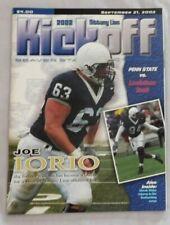2002 Penn State Vs Louisiana Tech College Football Program 9/21/02