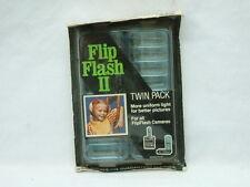 GE Flip Flash II Twin Pack 2 Arrays 16 Camera Bulbs Flashes ADSG316-A2 - SEALED