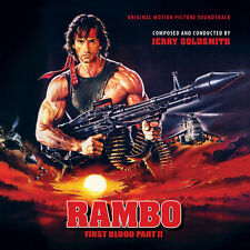 Rambo First Blood Part II - 2 x CD Complete - Limited Edition - Jerry Goldsmith