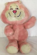"Master Juvenile Products Vintage Plush Pink Fakie Care Bear 14"" Stuffed Animal"