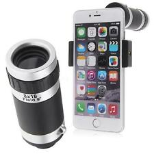 Universal 8x Camera Lens Zoom Mobile Phone Telescope Clip-On for Apple Android