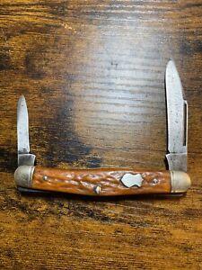 Vintage Boker USA 3588 2 Blade Pocket Knife
