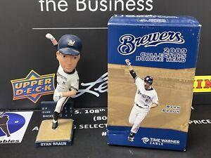 2009 Time Warner Cable Ryan Braun Bobble Head In Box Milwaukee Brewers