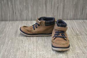 **Stride Rite SRtech Langston Ankle Boot, Toddler's Boy Size 10M, Brown