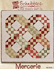 Schnibbles Mercerie pattern by Miss Rosie's Quilt Co. - Charm/Scrap Friendly