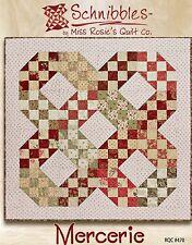 Schnibbles Mercerie pattern by Miss Rosie's Quilt Co. - Charm/Scrap Friendly