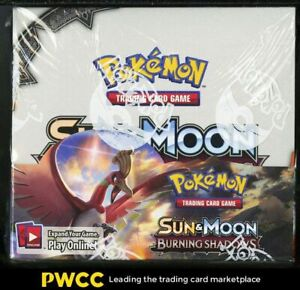 2017 Pokemon Sun & Moon Burning Shadows Factory Sealed Booster Box, 36ct Packs