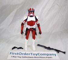 "Star Wars Black Series 6"" Inch Clone Trooper Commander Fox Loose Figure COMPLETE"
