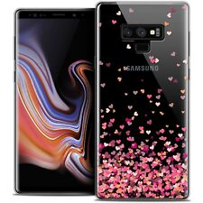 """Coque Gel Pour Samsung Galaxy Note 9 (6.4"""") Souple Sweetie Heart Flakes"""