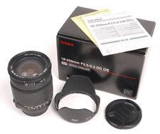 Sigma 18-250mm F3.5-6.3 DC OS HSM Lens in Nikon AF Mount - EX+
