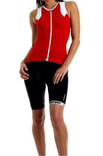 Assos Ns.13 Lady Women's Summer Sleeveless Cycling Jersey Red Size L