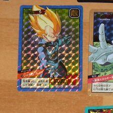 DRAGON BALL Z DBZ SUPER BATTLE PART 4 CARD DOUBLE PRISM CARTE 144 JAPAN 1992 **