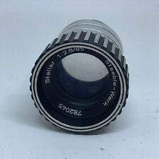 Stellar Staeble-Werk 85mm 2.8 Slide Projector Lens #LE-2051