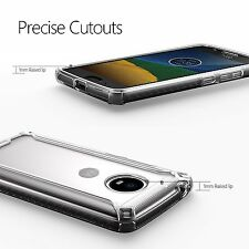 Poetic【Affinity】Soft Shock proof TPU Case For Motorola Moto G5 (2017) Clear