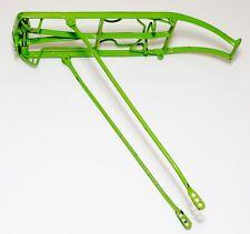 Rear Rack Bicycle Luggage Carrier Metal Spring Green Vintage