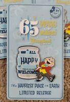 2020 Disneyland 65th Anniversary Mr. Toad AP Annual Passholder Disney Pin NEW