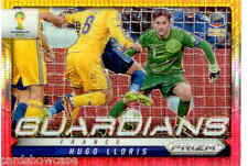 2014 World Cup Prizm Yellow & Red Guardians No.11 H. LLORIS (FRANCE)