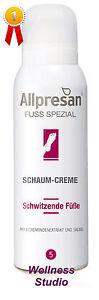 Allpresan 5 Fuß Schaum-Creme Schwitzende Füsse 35 ml reduziert Schweißproduktion