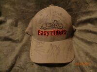"RARE Easyriders Cap Signed Autographed by Cast of ""Southern Steel"" TV Show"