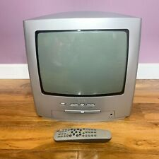 """Philips 14"""" inch CRT Cube TV with Remote, DVD Combi Video Retro Gaming Display"""