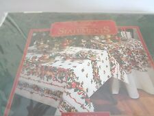"Holiday Statement New in package  Holiday Ribbons 52"" x 70"""
