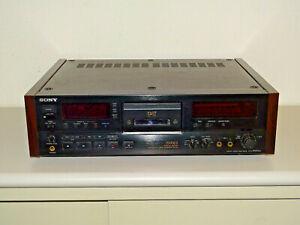 Sony DTC-2000ES High-End DAT-Recorder Schwarz mit Holzseitenteilen, 2J. Garantie