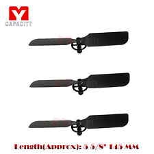 3x Tail Blade for G.T.Model QS8005 QS8006-008 QS 8006-2 RC Helicopter Spare Part