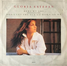 """GLORIA ESTEFAN - Here We Are/Don't Let The Sun Go Down On Me (12"""") (VG/G++)"""