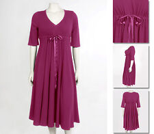 NEW!  Zaftique ADJUSTABLE SWEETHEART Dress MAGENTA 00Z / Womens 12 / Medium M