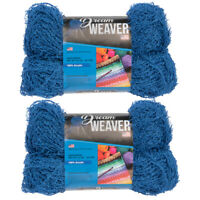 4pk Dream Weaver Scrubby 100% Acrylic Yarn Medium #4 Knit Crochet Skeins Soft
