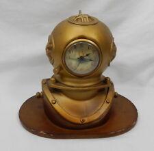 Kirch Scuba Diver Diving Helmet Desk Clock