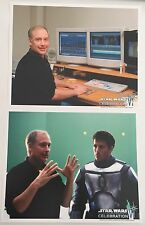 Lot Of 2 Star Wars Celebration VI Official Pix 10 X 8 Photos Ben Burtt