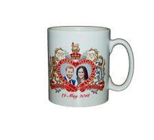 Prince Harry and Meghan Markle Royal Wedding Commemorative Mug