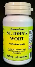 St. John's Wort, high quality depression anxiety aid, Made in USA -  60 capsules